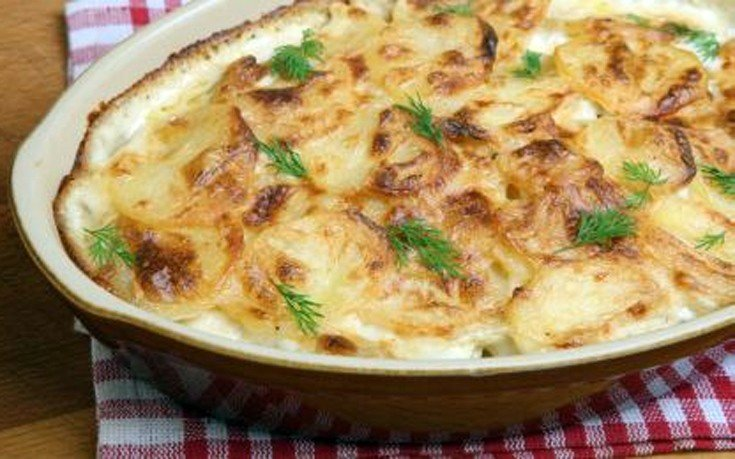 Γαλλικές πατάτες ντοφινουάζ