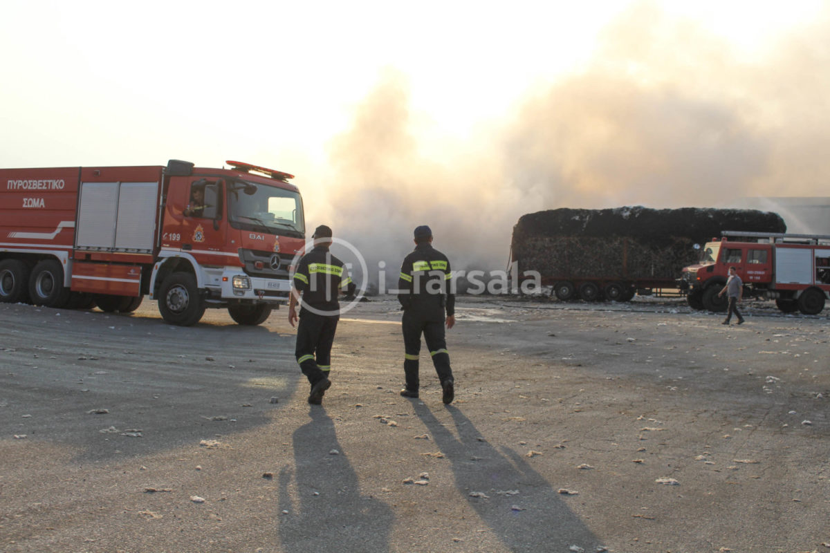201910190759597408 1200x800 - Φωτιά στο εκκοκκιστήριο στα Φάρσαλα (φωτο)