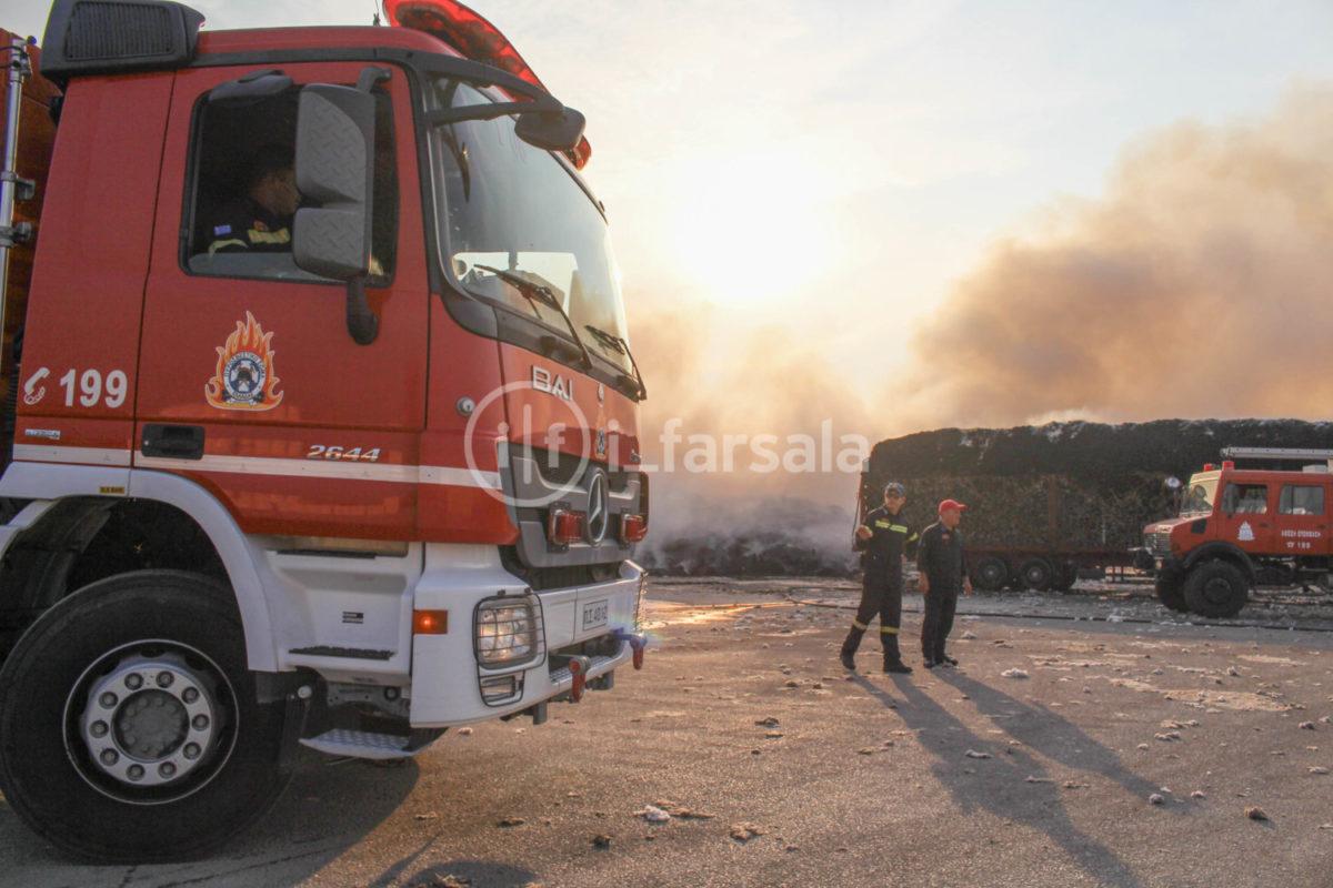 201910190800145131 1200x800 - Φωτιά στο εκκοκκιστήριο στα Φάρσαλα (φωτο)